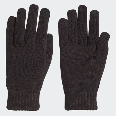 Running Black Performance Gloves