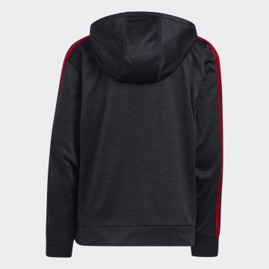 Youth Training Red Fade Horizon Hoodie (Extended Size)