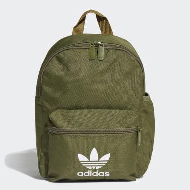 Kids Originals Green Adicolor Classic Backpack Small