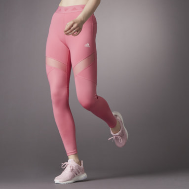 Tight lunghi Hyperglam High-Rise Rosa Donna HIIT
