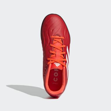 Kinder Fußball Copa Sense.3 TF Fußballschuh Rot
