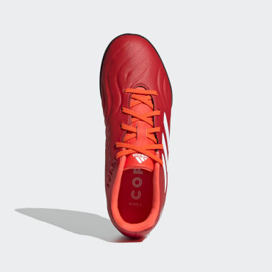 Children Soccer Red Copa Sense.3 Turf Shoes