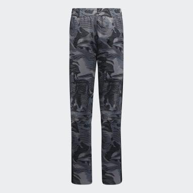 Youth Training Black Camo Pants