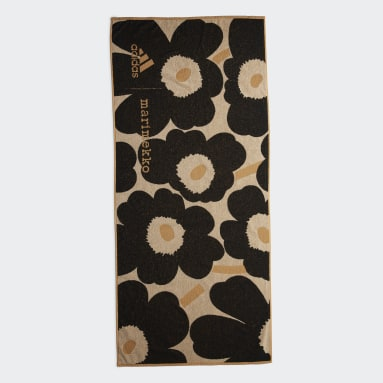 Serviette Marimekko Unikko adidas Orange Natation