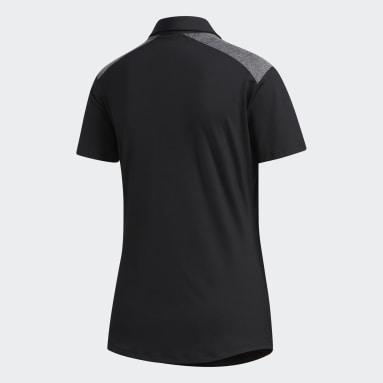 Women Golf Black Ultimate365 Polo Shirt