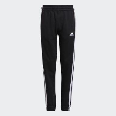 Pantalon de survêtement Bold 3-Stripes noir Adolescents Entraînement