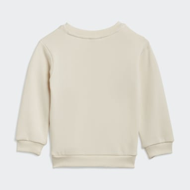 Blusa Moletom Estampada Algodão Orgânico No-Dye Branco Kids Originals