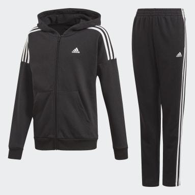 Boys Gym & Training Black Track Suit