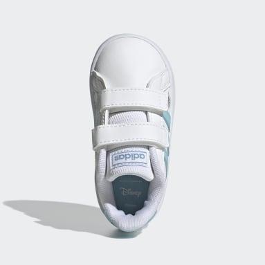 Scarpe Disney Frozen Grand Court Bianco Bambini Sportswear