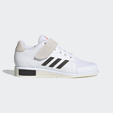 Sapatos de Halterofilismo Tokyo Power Perfect 3 Branco Halterofilismo