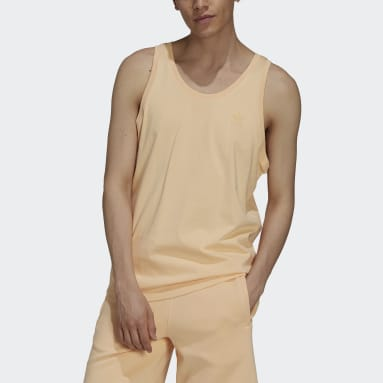 Camiseta sin mangas Adicolor Classics MM Trefoil Naranja Hombre Originals
