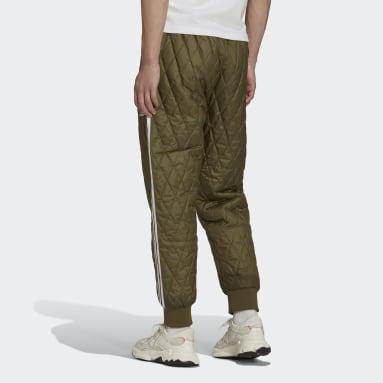 Track pants adicolor Classics SST Quilted Verde Uomo Originals