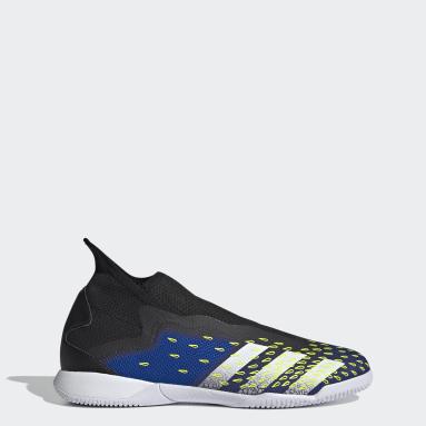 Futsal Black Predator Freak.3 Laceless Indoor Boots
