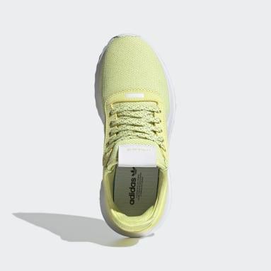 Tenis U_Path X Amarillo Mujer Originals