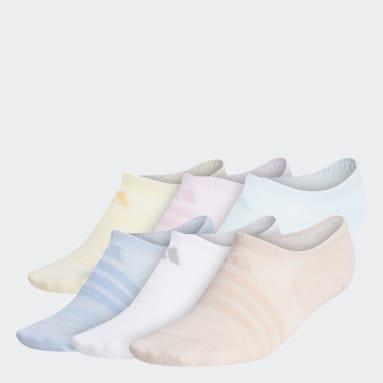 Women's Training Pink Superlite Super-No-Show Socks 6 Pairs