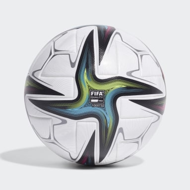 Men's Soccer White Conext 21 Pro Ball