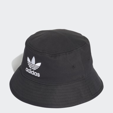 Originals Black Trefoil Bucket Hat