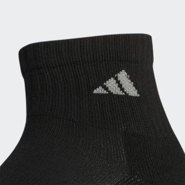 Men's Basketball Multicolor Athletic Cushioned Quarter Socks 6 Pairs
