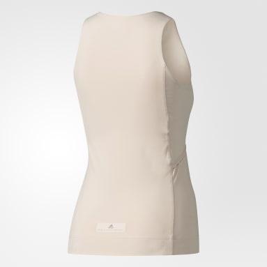Playera sin mangas Yoga Comfort Tank Rosa Mujer adidas by Stella McCartney