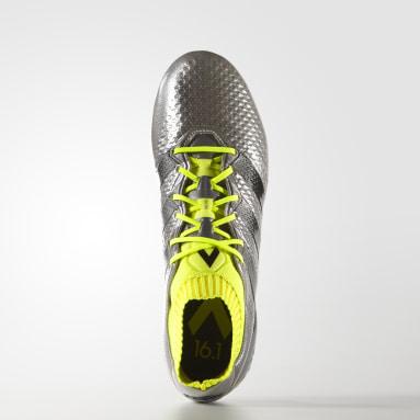 Zapatos de fútbol para pasto natural ACE 16.1 Primeknit Plata Hombre Fútbol