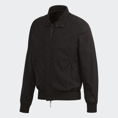 Men Y-3 Black Y-3 CL Harrington Jacket