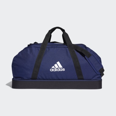Fotboll Blå Tiro Primegreen Bottom Compartment Duffel Bag Large