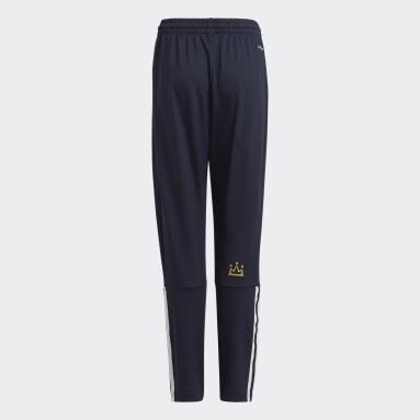 Boys Gym & Träning Blå AEROREADY Salah Football-Inspired Tapered Pants