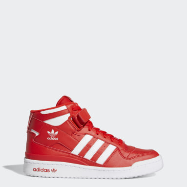 Men Originals Red Forum Mid Shoes