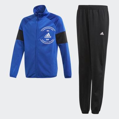 Survêtement adidas Primegreen Bleu Garçons Fitness Et Training