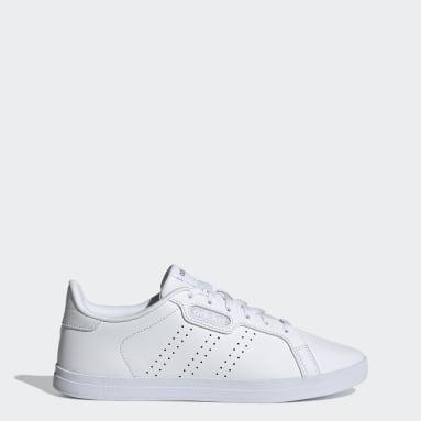 Women Sportswear White Courtpoint Base Shoes