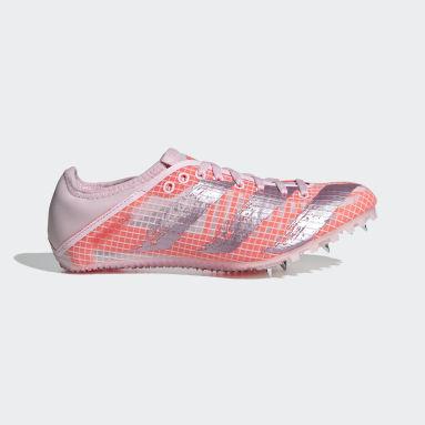 Dames Atletiek Roze Sprintstar Atletiekschoenen