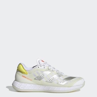 Adizero Fastcourt 1.5 Handball Shoes Bialy