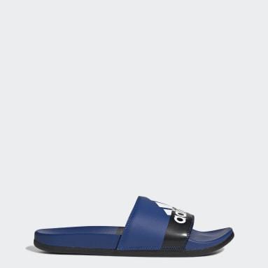 Swimming Blue Adilette Comfort Sandals