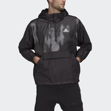 Giacca a vento Back to Sport WIND.RDY Nero Uomo City Outdoor