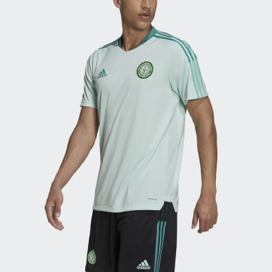 Men Football Turquoise Celtic FC Tiro Training Jersey