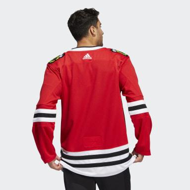 Men's Hockey Red Blackhawks Home Authentic Jersey