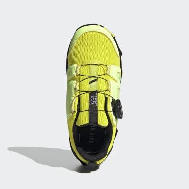 Terrex Agravic Boa RAIN.RDY Hiking Shoes Żółty