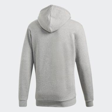 Men's Originals Grey Trefoil Hoodie