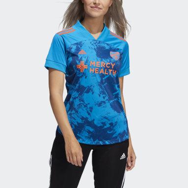Women's Soccer Blue COND20 JSY PB W