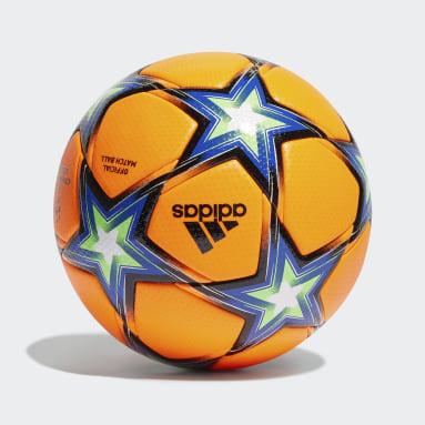 Pallone UCL Pyrostorm Winter Arancione Calcio