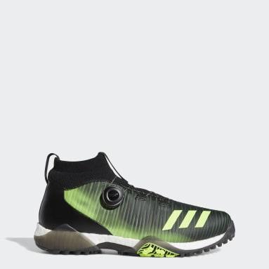 ผู้ชาย กอล์ฟ สีดำ รองเท้ากอล์ฟ CodeChaos Boa