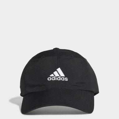 โยคะ สีดำ หมวกแก๊ปปีกโค้ง AEROREADY Badge of Sport