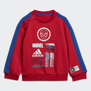 Conjunto Marvel Hombre Araña Jogger (UNISEX) Rojo Niño Training