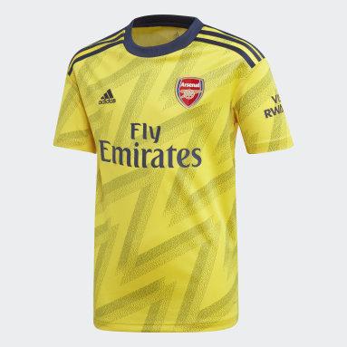Polo segunda equipación Arsenal Amarillo Niño Fútbol