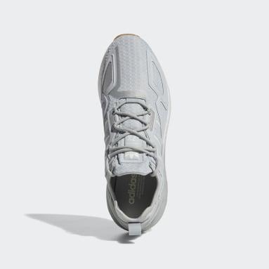 Men's Originals Grey ZX 2K Boost Shoes