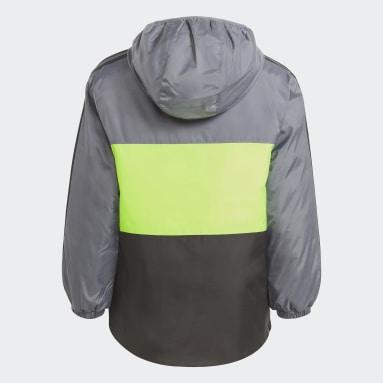 Boys Gym & Träning Svart Colorblock Insulated Jacket