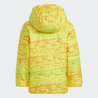 Děti Cvičení A Trénink žlutá LK LEGO CL JKT