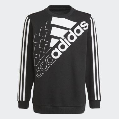 Sudadera adidas Essentials Logo (Género neutro) Negro Niño Sportswear