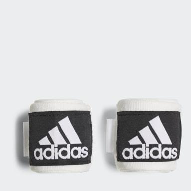Boksen wit Crepe Bokszwachtels