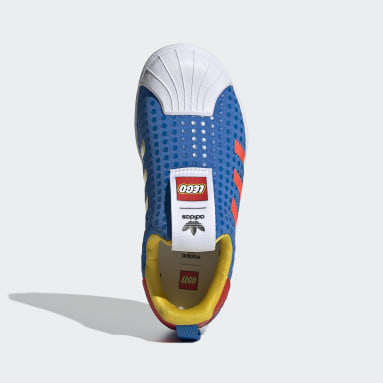 Tenis adidas Superstar 360 x LEGO® Azul Niño Originals